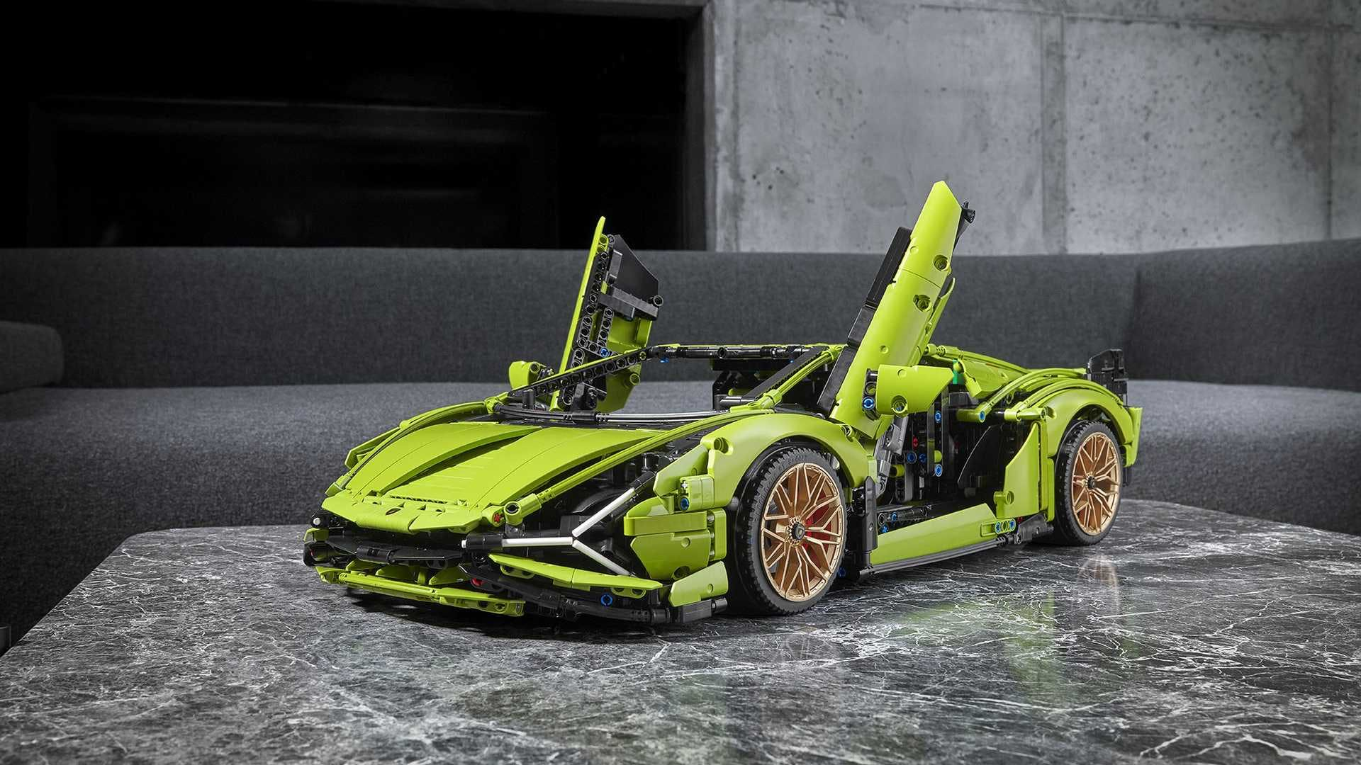 Lamborghini Sian Lego Technic (1)
