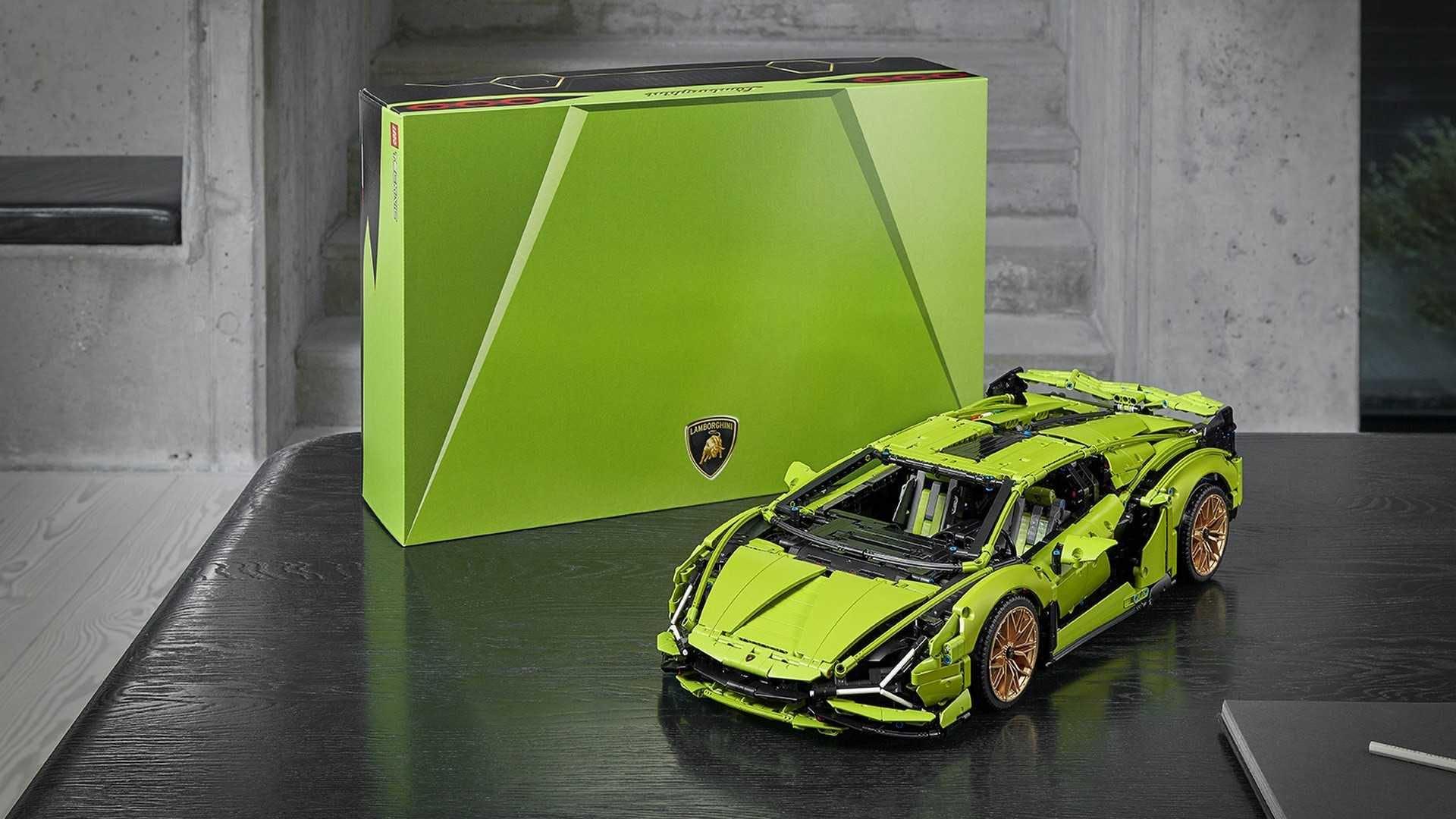 Lamborghini Sian Lego Technic (2)