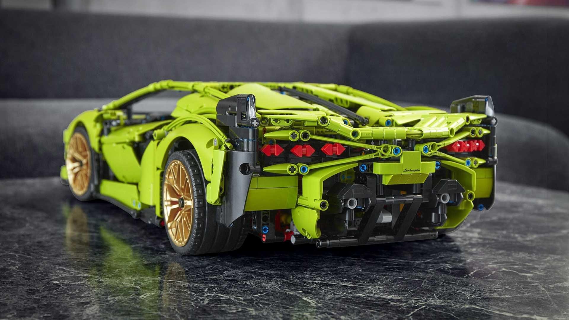 Lamborghini Sian Lego Technic (4)
